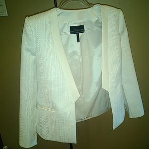 Like new! Bcbgmaxazria Leone Blazer Off White